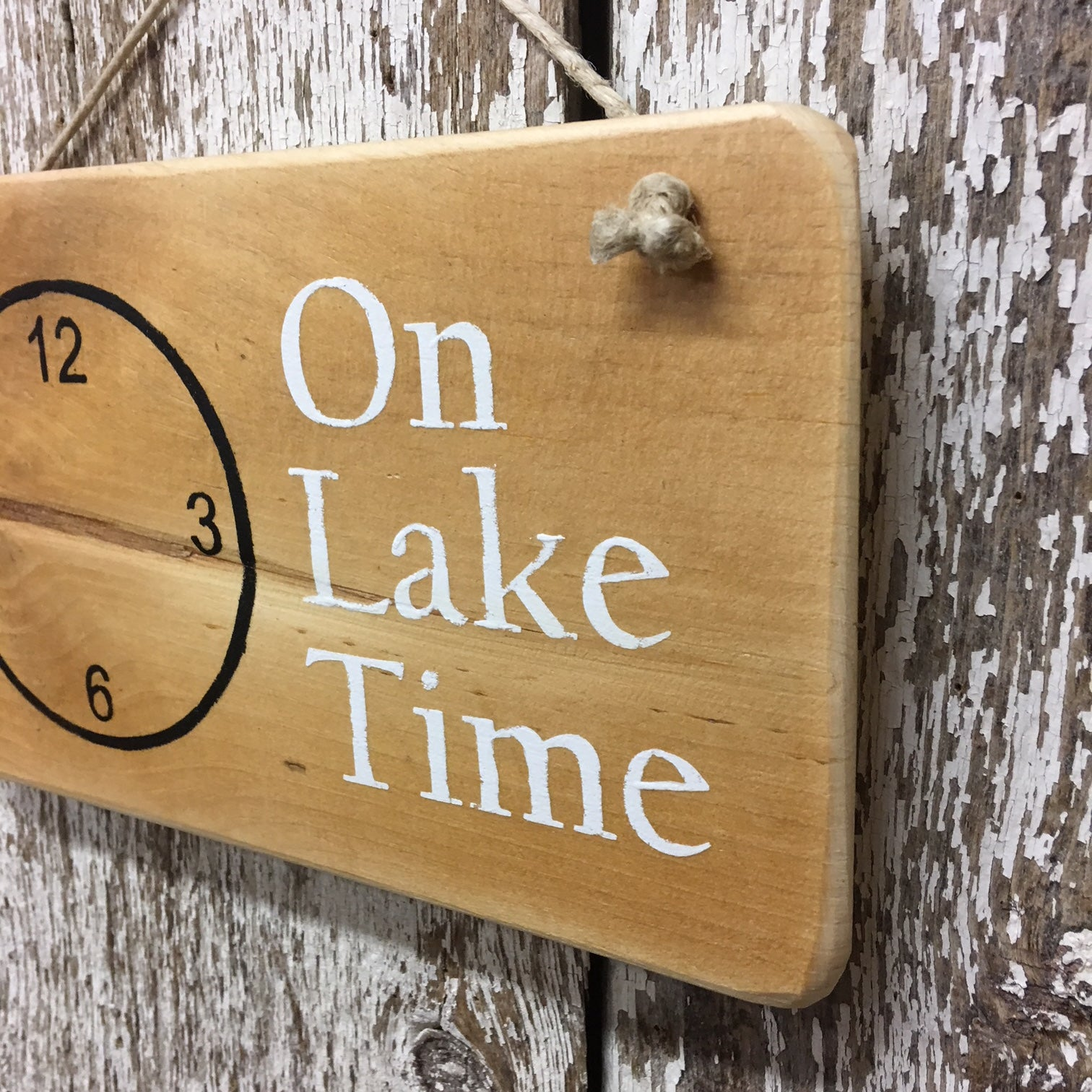 on lake time lake house gifts lake cabin decor wooden signs