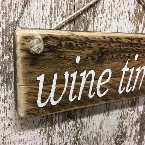 wine decor kitchen vintage wine signs wine time wood sign