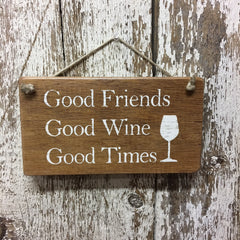 gift for wine drinkers wine lover rustic wood wine sign ideas