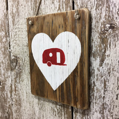 etsy camping signs camping sign ideas heart with camper inside