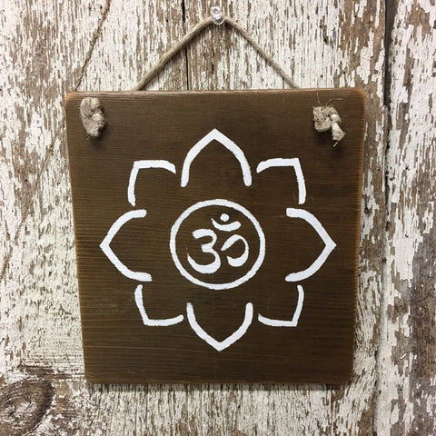 yoga gifts for teachers instructors yogis OM Lotus Flower sign
