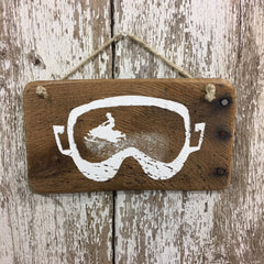 Snowmobile Gifts snowmobile decor snowmobile sign goggles