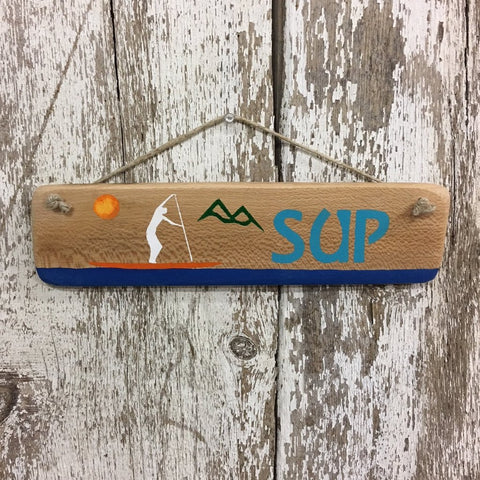Stand Up Paddle boarding Sign SUP gift ideas for paddle boarders