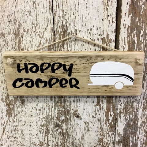 Happy Camper RV Camper Sign Camper Decor Camping Signs