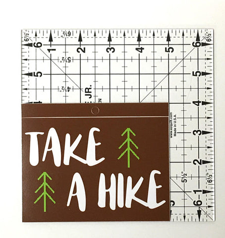 Hiking Vinyl Decal - Window Sticker