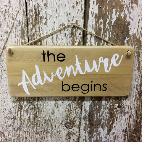 adventure sign explore sign new baby family sign adventure begins