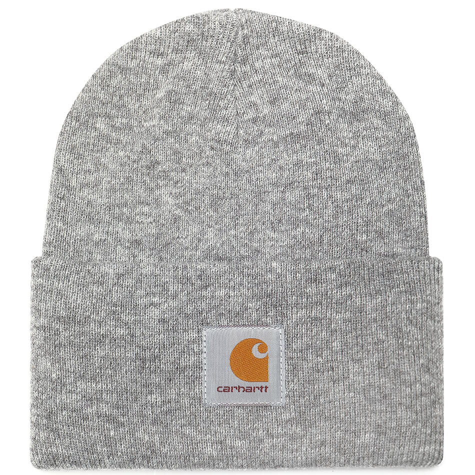 Carhartt Acrylic Watch Hat Grey Heather - Degli Uberti Store