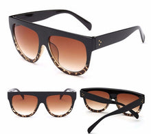 Leopard darling gradient sunglasses