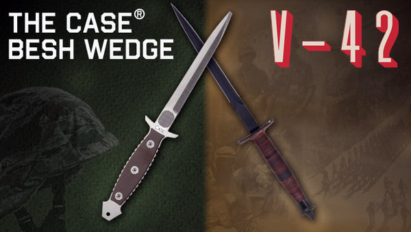 The Besh Wedge and V-42 Knives