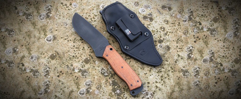Recruve Knive with Sheath