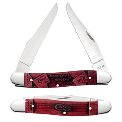 Event Knife -Muskrat - Front and Mark - Mark of A New Era Design Red Handle