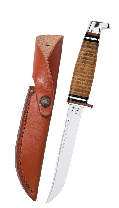Case Leather 5 Quot Utility Hunter Knife W Leather Sheath