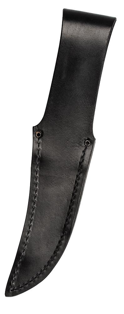 Buffalo Horn Kodiak Hunter® with Leather Sheath