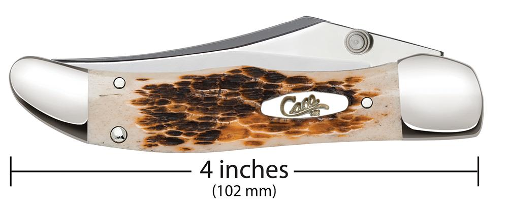 Kickstart® Amber Bone Peach Seed Jig Mid-Folding Hunter