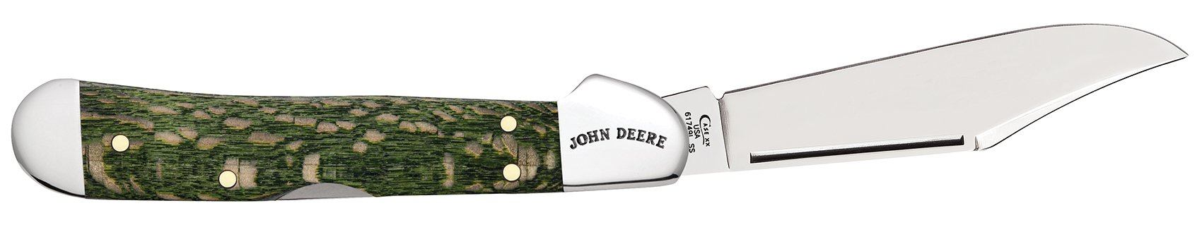 John Deere Gift Set Smooth Green Sycamore Wood Mini CopperLock®
