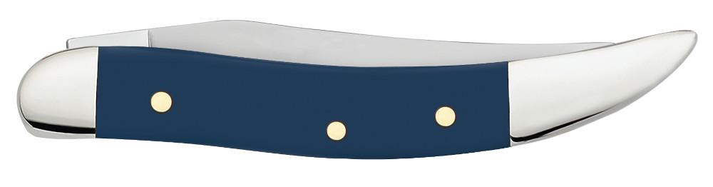 Navy Blue Synthetic Smooth Small Texas Toothpick
