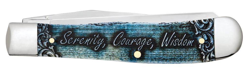 Trapper Serenity Prayer Knife