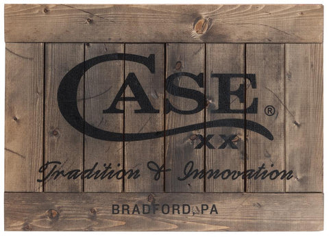 Case Wooden Sign