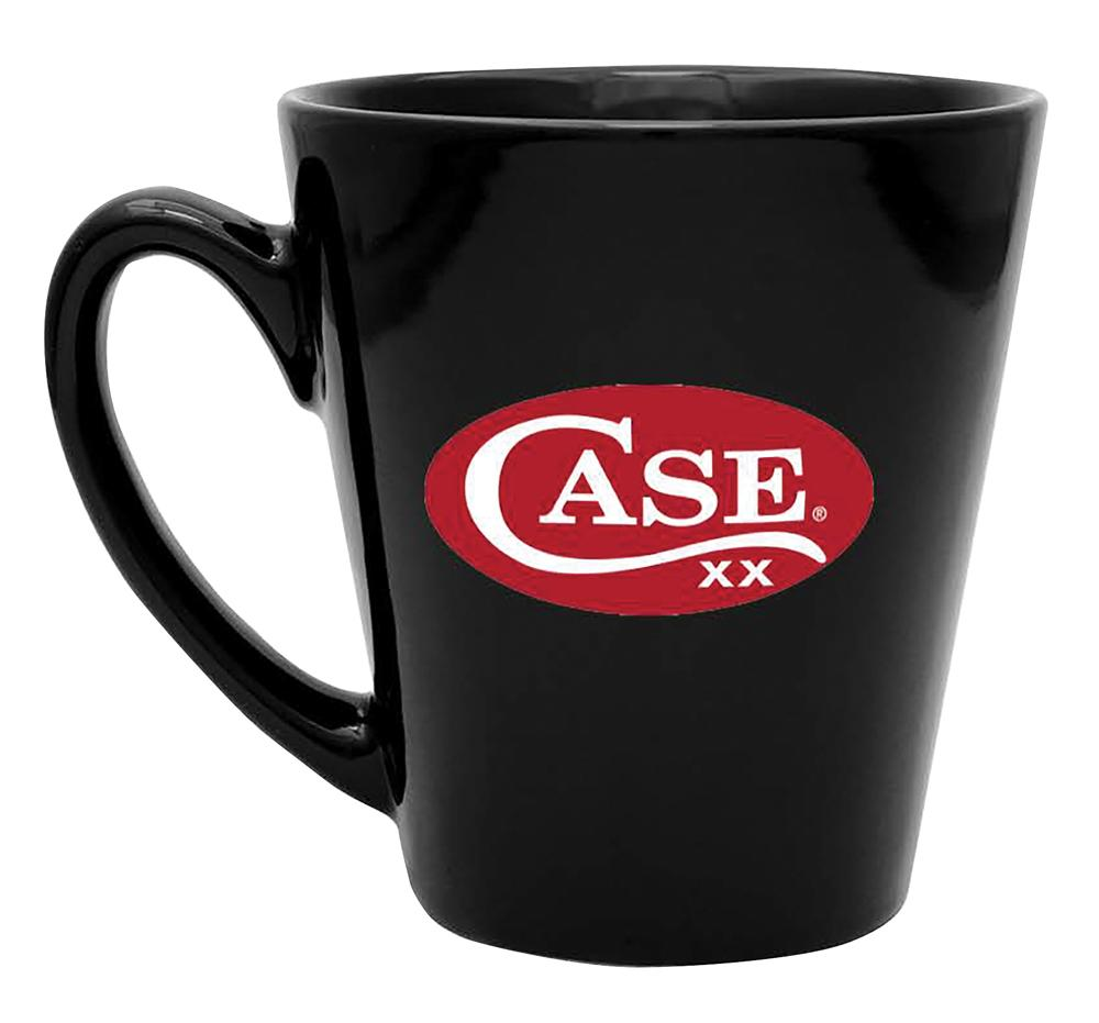 Case Black Ceramic Logo Mug