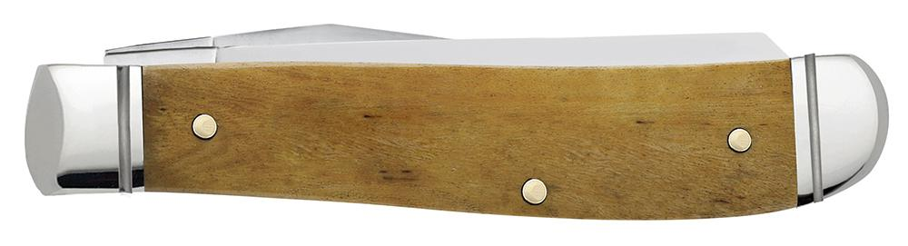 Smooth Antique Bone Mini Trapper