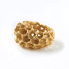Honeycomb Domed Ring