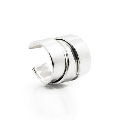 Phoenix Folded Silver Ring | Heidi & Co. | 3 Labels 1 Mission