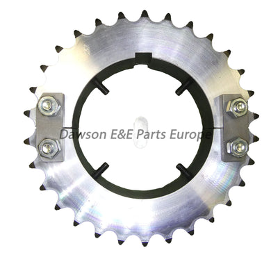 Anlev Split Handrail Drive Sprocket Attached to Main Drive Shaft 30 Tooth