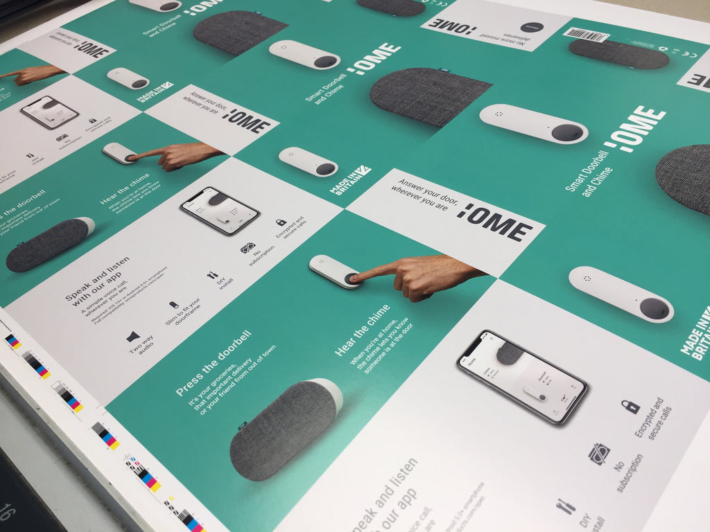 Ome Smart Doorbell Packaging: Outer Sleeve