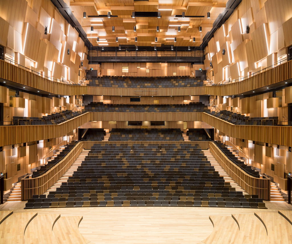 MALMÖ Live Concert Hall Using the Same Kvadrat Fabric as the Ome Smart Doorbell Chime