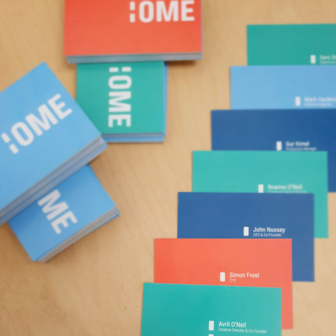 Ome Smart Doorbell Business Cards