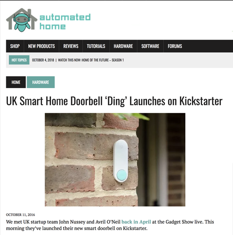 Ome Smart Doorbell Feature in Automated Home