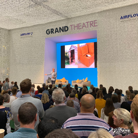 Kevin McCloud Talking About The History of Toilets at Grand Designs Live