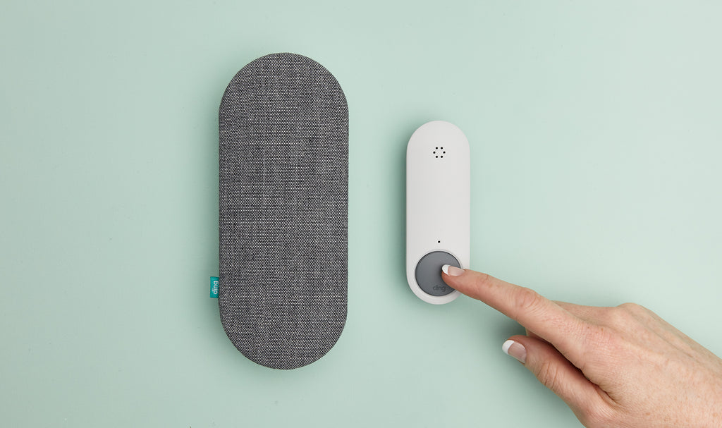 Smart Doorbell and Chime Set