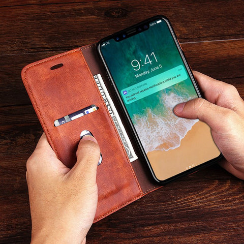 Thread iPhone X Wallet Case