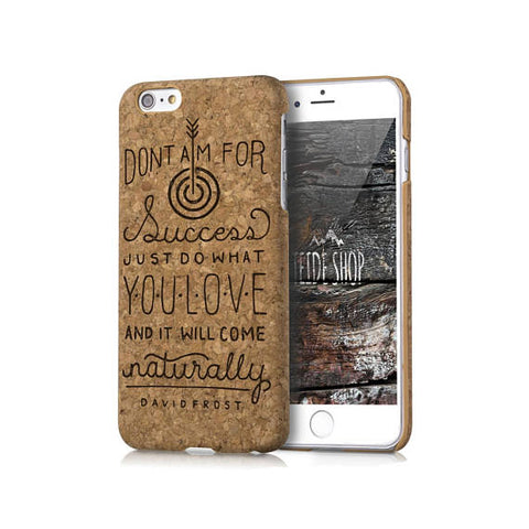 David Frost Cork iPhone 8 Case Wood iPhone 8 Plus Case Wood iPhone 7 Case Natural Cork iPhone 6S Case Wood iPhone SE Case Cork iPhone 5S