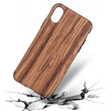 Wood Skin iPhone X Case Spocket App