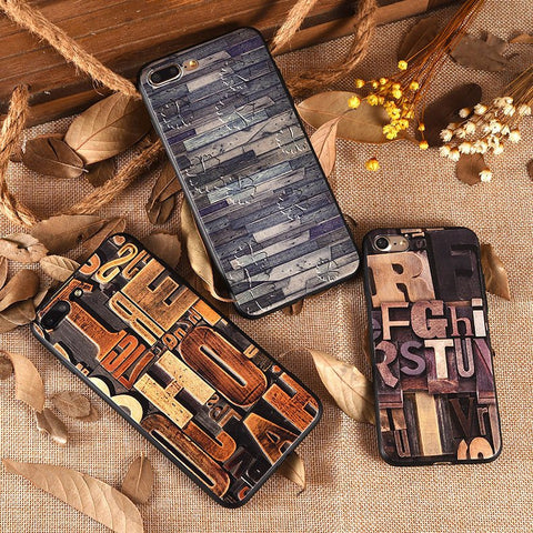 3D Wood Carving Art iPhone Case