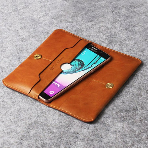 Genuine Leather Wallet for Smart Phones