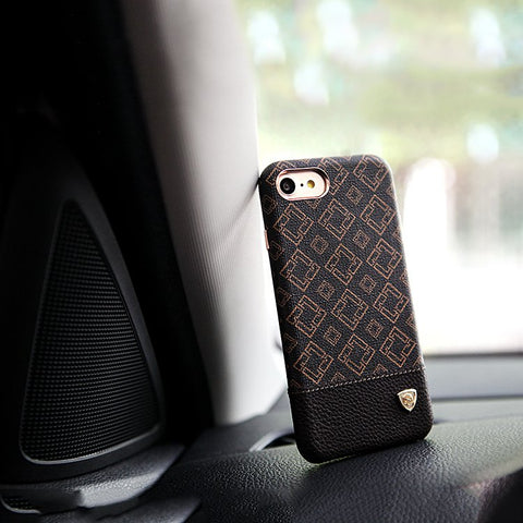 Block pattern iPhone 7 7+ Case