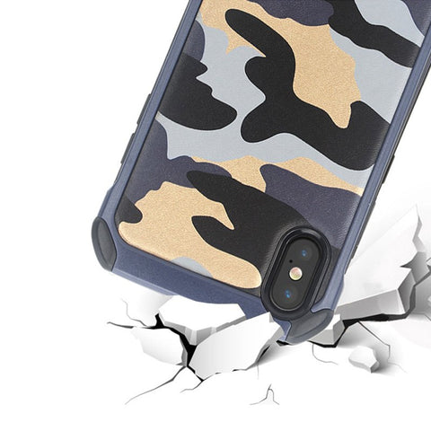Camouflage Protective iPhone X Case