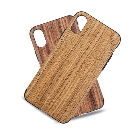 Wood Skin iPhone X Case