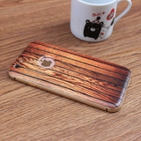 Carbonized Wood iPhone Bumper Case Spocket App