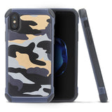 Camouflage Protective iPhone X Case Spocket App