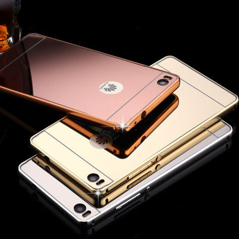 Clear Mirror Case For Huawei Ascend P8