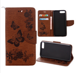 Leather Flip Case For iPhone Models