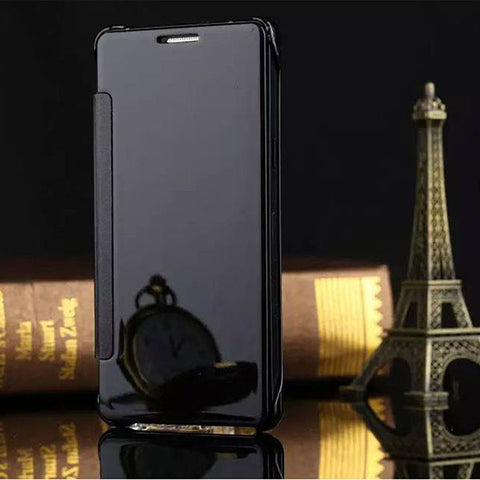 Flip Mirror Case For Samsung Galaxy Models