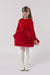 18685 Layered Tulle Velvet Dress