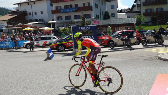 Another colombian cyclist attacked
