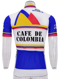 Cafe de Colombia vintage cycling set