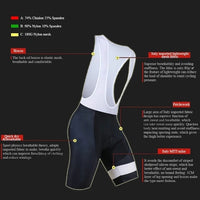 Bib cycling short summer pro Sillenyond